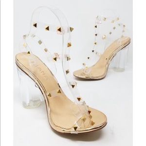 Brand new with box Rose gold heels